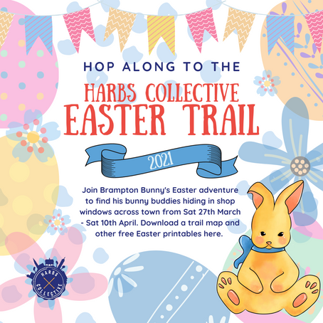 Free Easter activity sheets - Harborough town trail