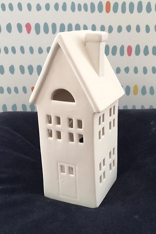 'Tall' House tealight lantern