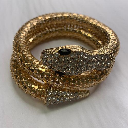 La Serpent Bracelet - Gold