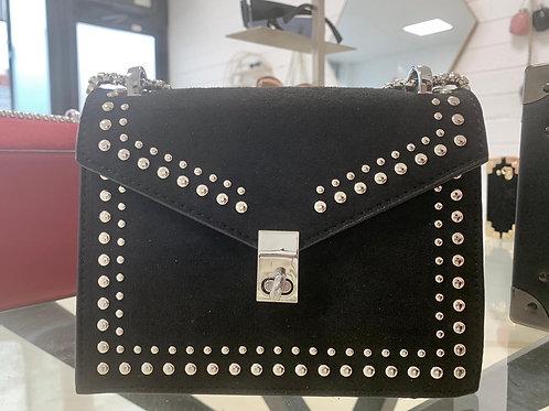 Black Studded Bag
