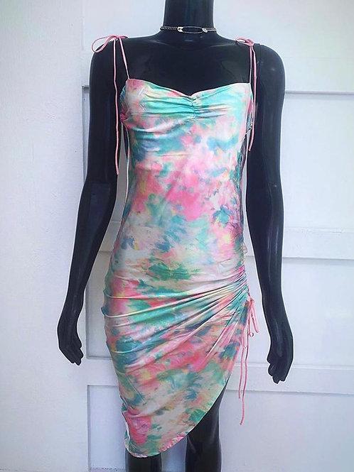 Pretty Dyed Slip Dress