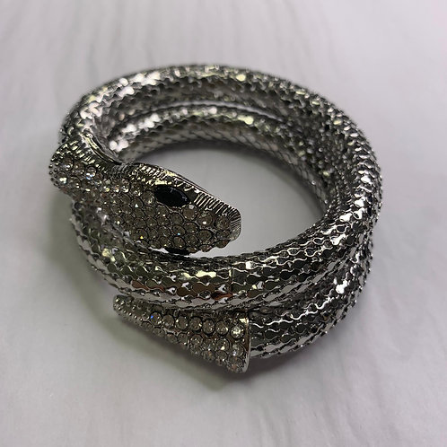 La Serpent Bracelet - Silver