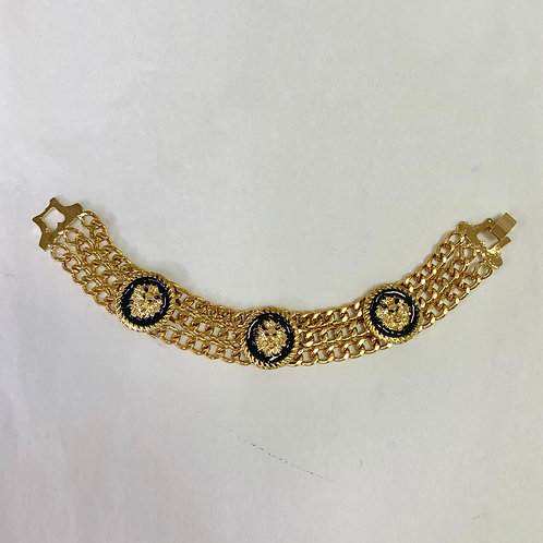 Linked up Bracelet -Gold