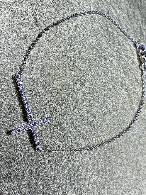 Shining Cross Bracelet