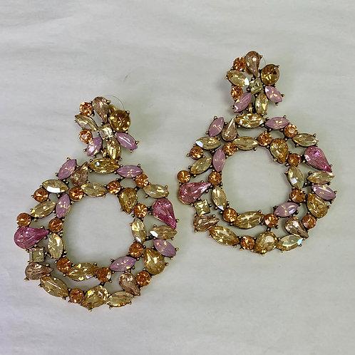 Circle of Stone - Pink Tones