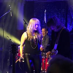 Ange with the RocKwiz Band
