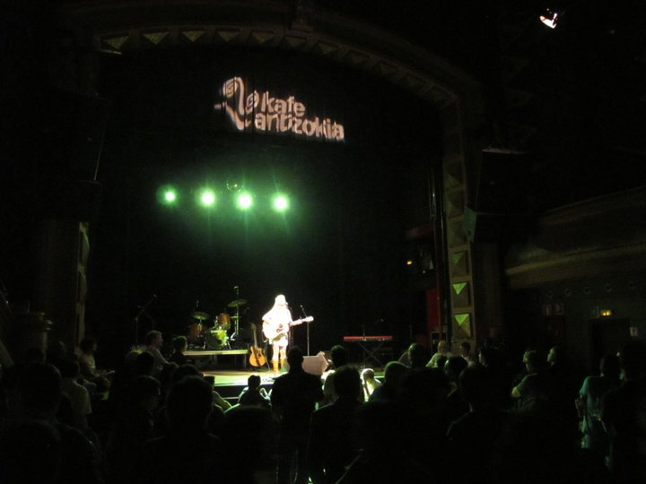 Supporting Ron Sexsmith in Spain