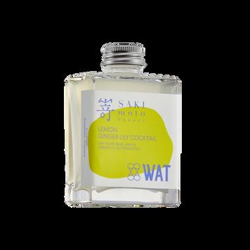 SAKImoto x WAT 電氣石檸檬野薑花雞尾酒