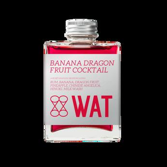 Banana Dragon Fruit Cocktail