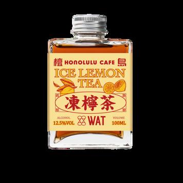 檀島 x WAT 凍檸茶雞尾酒