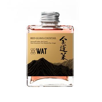 金蓬萊 x WAT 紅心芭樂雞尾酒
