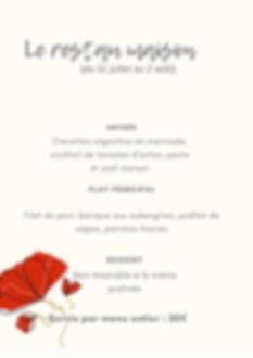 Beige Fleur Accent Mariage Carte (2).jpg