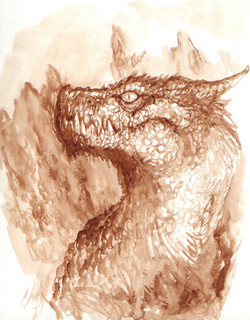 watercolor_dragon_sketch_by_chrisscalf-d3fneyh