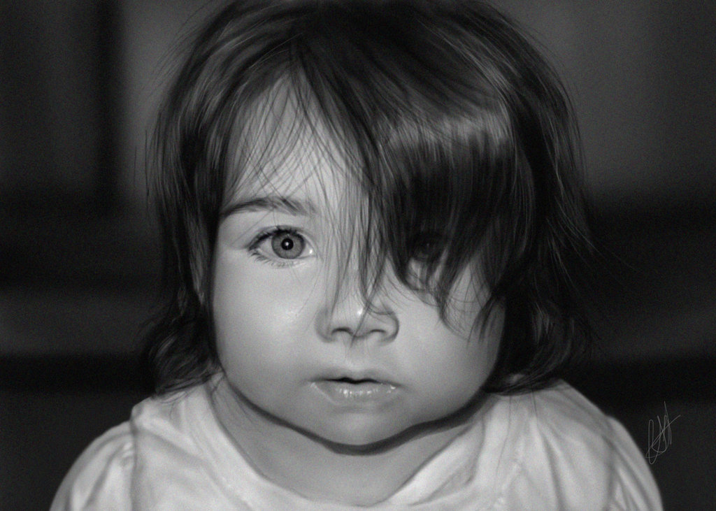 45_minute_black_and_white_digital_drawing_of_baby__by_chrisscalf-d5wem1r