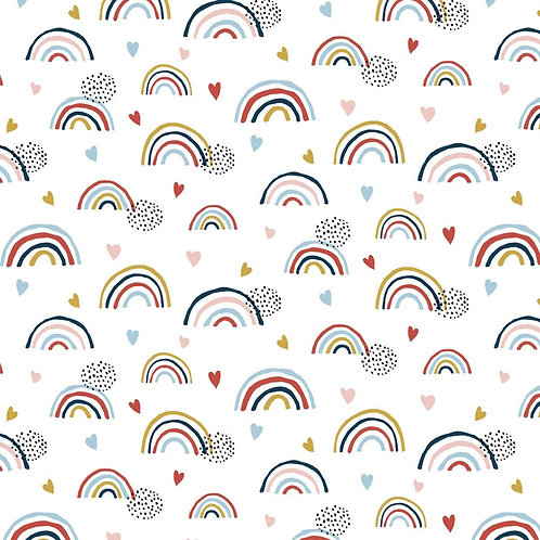 RAINBOWS DOTS - Punto camiseta