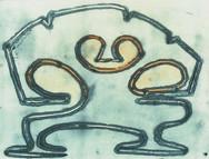 Linocut 20 x 15 cm 1989