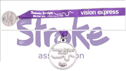 Stroke Association: Thames Bridge Bike Ride 2016
