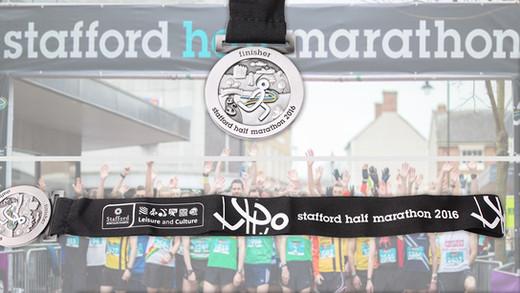 Stafford Half Marathon 2016