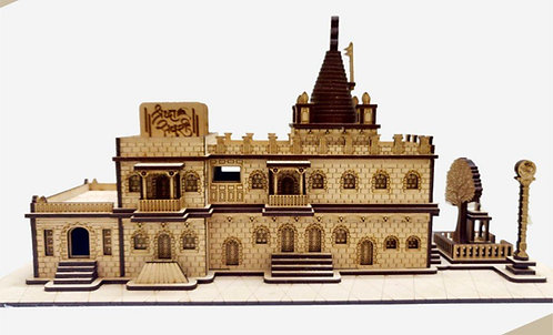 Shirdi Sai Baba Temple Wooden Handycroft