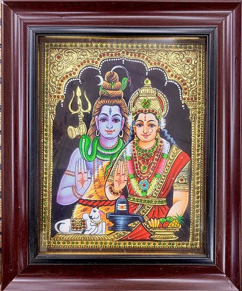 Shiva Parvathi Tanjur Sada Size 12/10