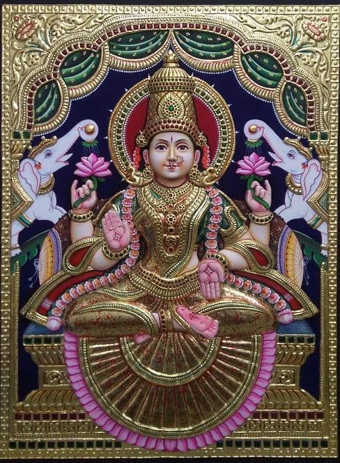 Lakshmi Devi  Tanjur 3D
