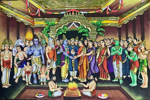 Srinivasa Kalyanam Tanjur 3D