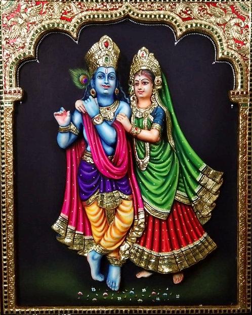 Radha krishna Tanjur 3D