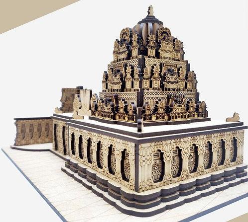 Tirupathi Balaji Temple ( Tirumala ) Vikunta Vakilli  Wooden Handycroft