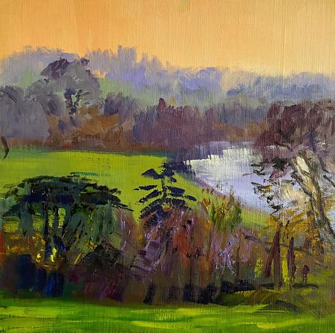 An-Orange-Sunset-Richmond Hill