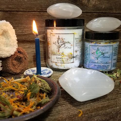 LavenderSunshine SacredHealing Bathing Salts