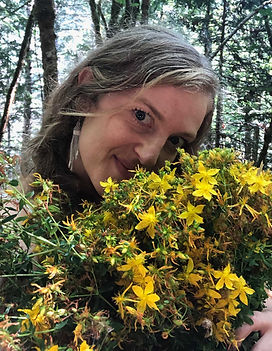 Teasha with St. John's Wort