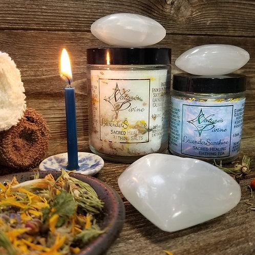 LavenderSunshine Sacred Healing Bathing Tea
