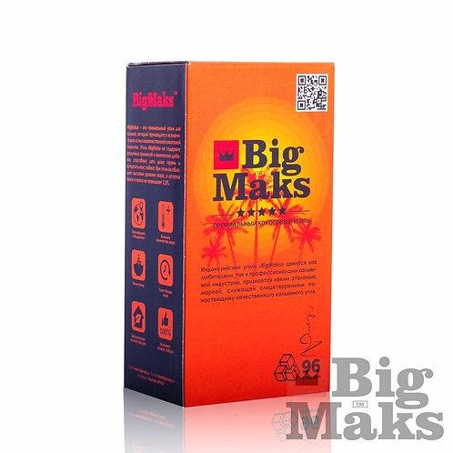 Кокосовый уголь для кальяна BigMaks Standart (куб 22 мм)
