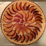 Peach Tart Glazing