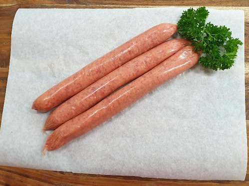 Thin Beef Sausages - G Free
