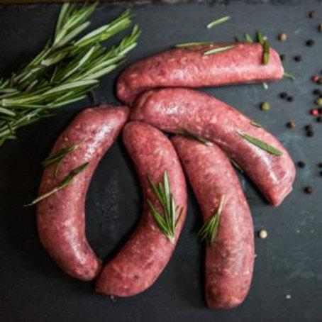 Moroccan Beef Sausages