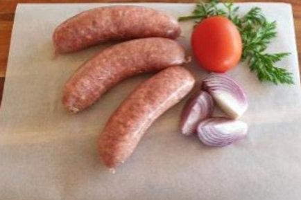 Wagyu, Roma Tomato & Caramalised Onion - G Free Sausage