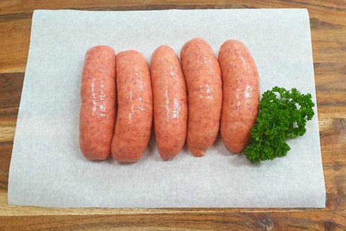 Thick Beef Sausages - G Free