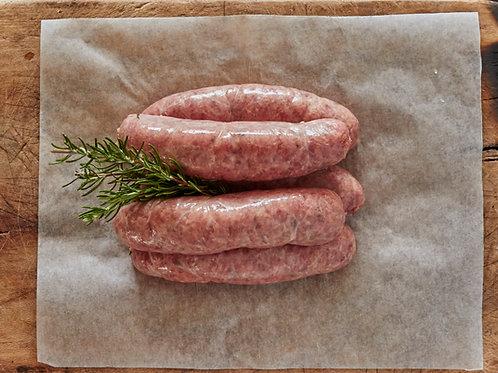 Pork, Apple, Honey & Mint Sausages - G Free