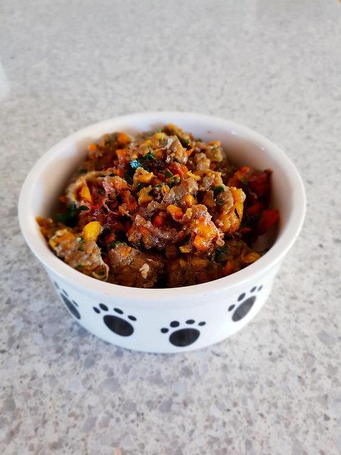 Kangaroo & Vegetables - Pet Meal