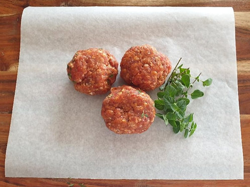 Lamb, Honey & Mint - G Free Rissoles