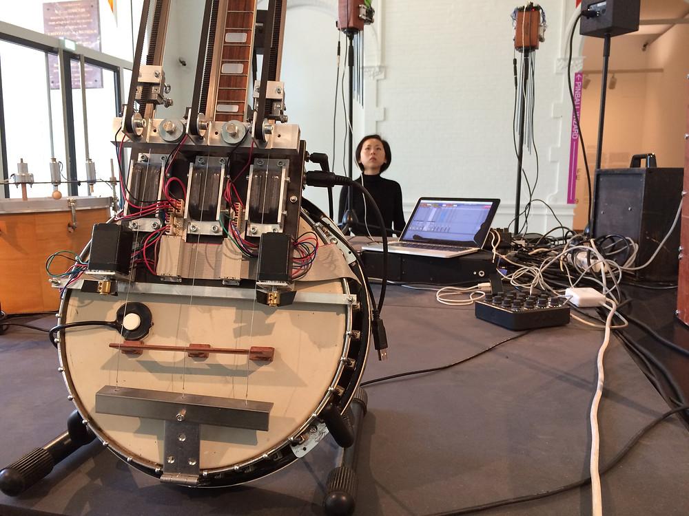 Musikroboter-Installation Aggregate von gamut inc