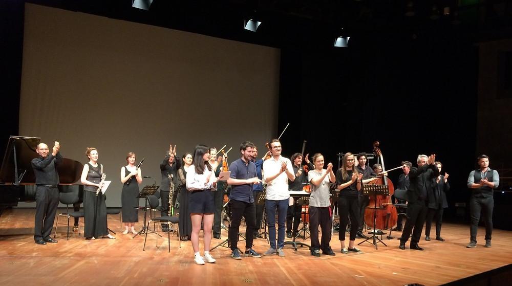 19:30 Uhr. HfMT Köln. Konzert der Studierenden der Kompositionsklassen Prof. Beil, Prof. Hechtle und Prof. Muntendorf