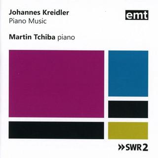 Gesamteinspielung Klaviermusik Johannes Kreidler