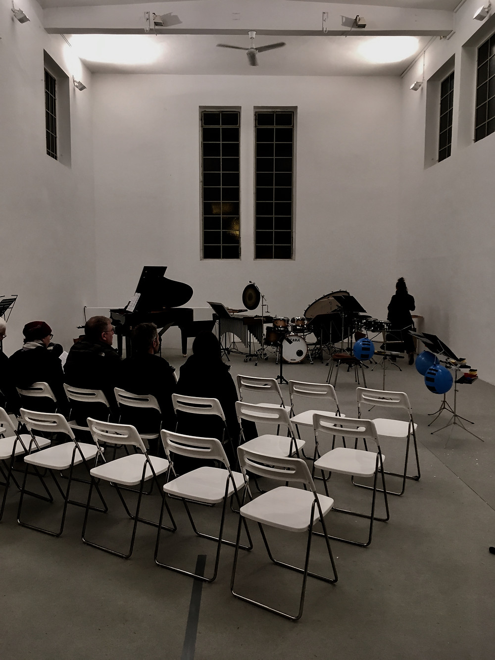 BÉTON BRUT & BRUITS - Ensemble hand werk