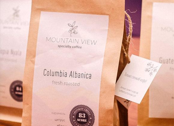 Кофе свежей обжарки Columbia Albanica