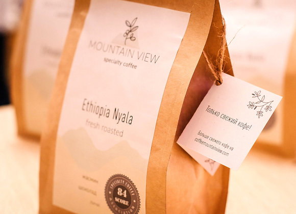 Кофе свежей обжарки Ethiopia Nyala