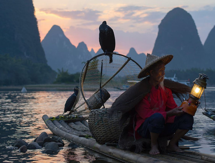 JESTravelDesign_Yangshuo_fishing_lantern