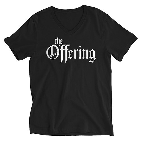 """""""The Offering"""" Classic V-Neck"""