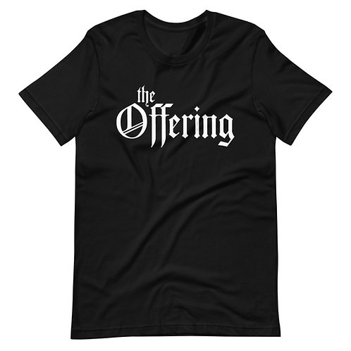 """""""The Offering"""" Classic Black T-Shirt"""